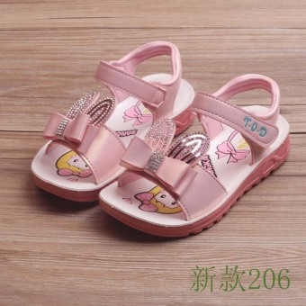 Korean-style New style summer girls children's shoes sandals
