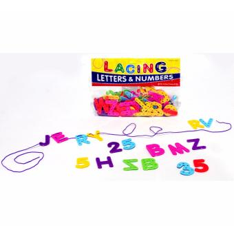 Lacing Letters for Toddlers - Educational and Therapeutic Toy