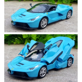 LaFerrari-Pull Back Toy Cars 1/32 Scale Alloy Diecast Car ModelKids Toys Collection Gift - intl Price Philippines