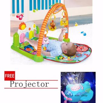 lazada and USA best selling Discover 'n Grow Kick and Play PianoActivity Play Gym with free Projector Price Philippines
