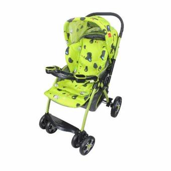 Legend Baby Stroller with Cow Design (Green) Price Philippines