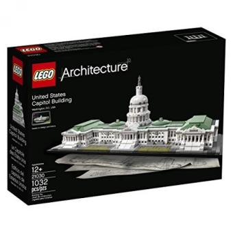 LEGO Architecture 21030 United States Capitol Building Kit (1032Piece)