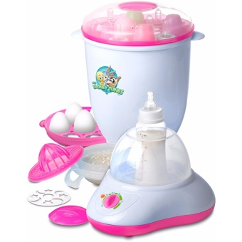 Looney Tunes Multi-Purpose Rapid Steam and Sterilizer (Pink)