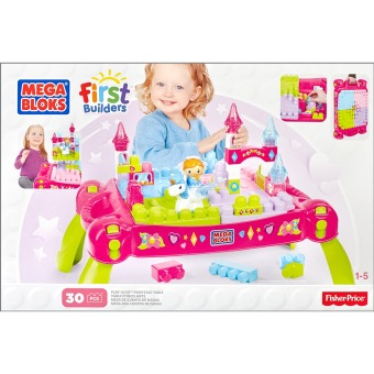 MEGA BLOKS(R) Lil' Princess Play 'N Go Fairy Table Price Philippines