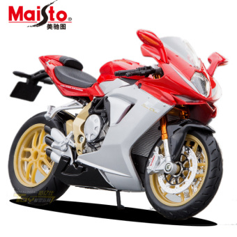 Mei Chi figure alloy motorcycle model toy