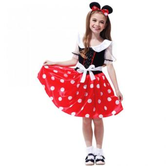 Minnie Mouse Kid Dress Costume (X-Large)