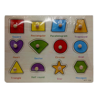 MTF-029 Wooden Shapes Learning Toys Price Philippines
