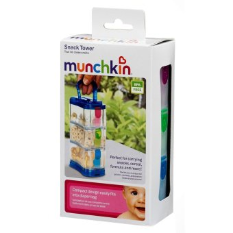 Munchkin Snack Tower (multi color)