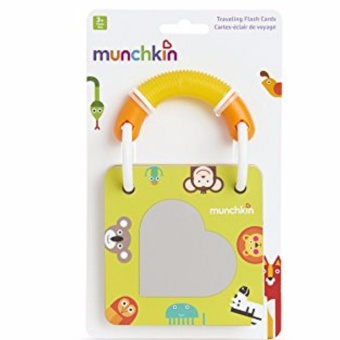 Munchkin Travelling Flash Cards(Multicolor)