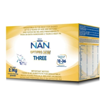Nan Optipro HW Three Powdered Milk Drink 2.1kg