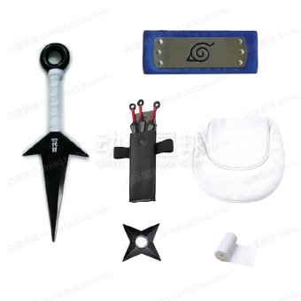 Naruto ninja weapon combination full set accessories