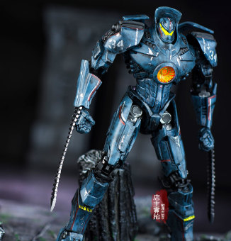 Neca garage kit wandering the storm toys mech
