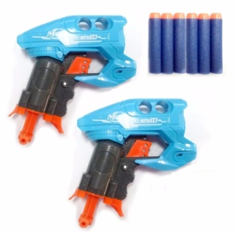 Nerf Shooting Toy Set of 2 (Blue)