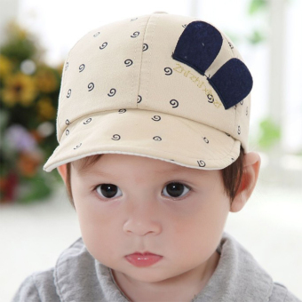 Newest Summer Newborn Baby Hat Kids Cap Infant Baby Hat for Boysand Girls-beige