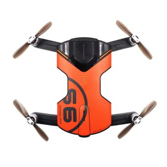 Newest Version Wingsland S6 Pocket Selfie FPV WiFi With 4K UHDCamera Toys Orange - intl Price Philippines