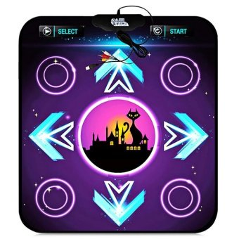 Non-Slip Dancing Pad Dance Mat Equipment For Pc With Usb(Colormix)- intl