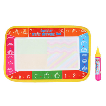 Non-toxic Water Drawing Mat Board Painting and Writing Doodle With Magic Pen for Baby Kids 25 * 16.5 CM