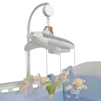 PAlight Rotary Crib Clockwork Movement Music Box Kids Home &Living Baby Kids Bedding Toy (plush toy is not included)
