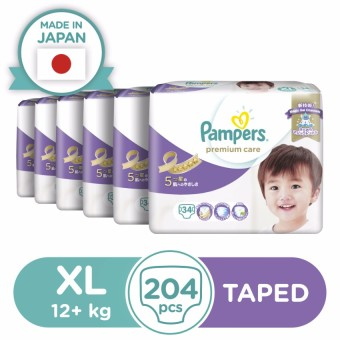 Pampers Premium Care Diaper XL 34s - 6 Packs