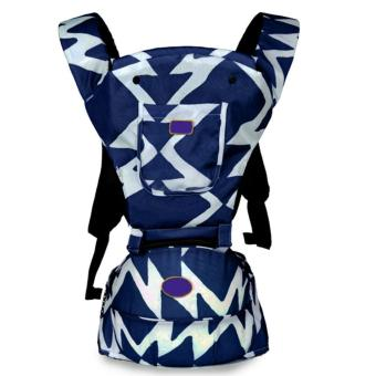 PENNY Lightweight Multi-Position Baby Carrier Backpack DetachableHip Seat with Hood,Blue - intl Price Philippines