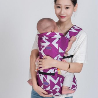 PENNY Lightweight Multi-Position Baby Carrier Backpack DetachableHip Seat with Hood,Purple - intl Price Philippines