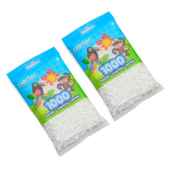 Perler Beads Bag Beads Pack of 2 (White) Price Philippines