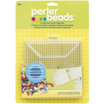 Perler Beads Clear Square Pegboards 4 Pack Price Philippines