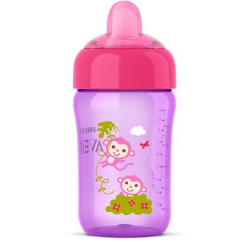 Philips Avent My Sip-n-Click Cup, Purple, 12 Ounce