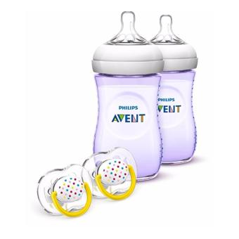 Philips Avent Natural Baby Bottle Gift Set, Purple Price Philippines