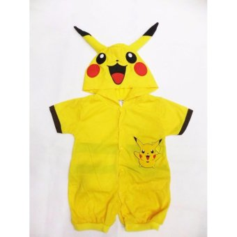 Pikachu Baby Costume Romper 6-12 months