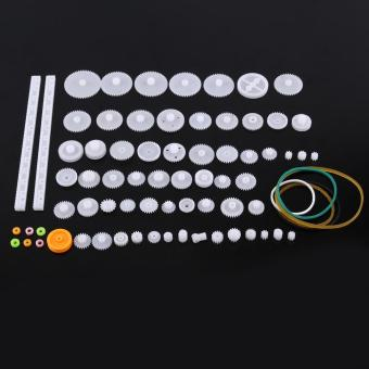 Plastic Gears Pulley Belt Worm Kits Crown Bevel Gear Set Toy DIYParts(75kinds) - intl Price Philippines