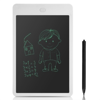 Portable 10 Inch LCD Panel Tablet Writing Drawing Graphics Boardfor Children Adult - intl