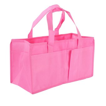 Portable Baby Diaper Nappy Changing Organizer Insert Storage Bag(Pink)
