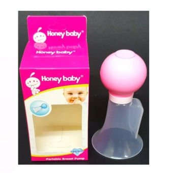 Portable Breast Pump (Pink)