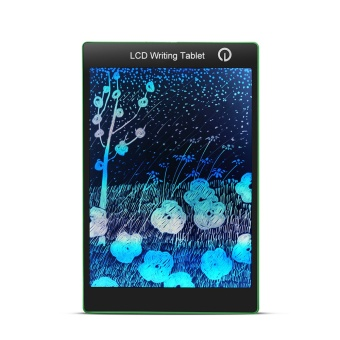 Portable Colorful LCD Writing Drawing Board Tablet Pad Notepad Electronic Graphics Digital Handwriting with stylus pen - intl