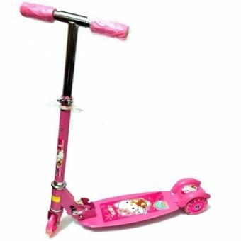 Quality Ride-On Push Scooter for Kids with Laser Wheel (Pink)
