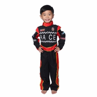 Race Car Driver Costume for Kids 3 to 4 Years Old