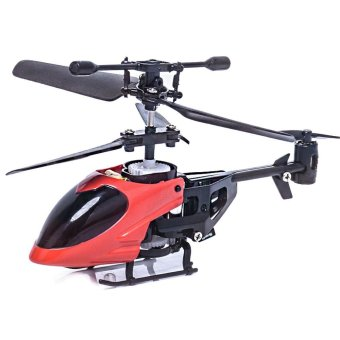 RC 5012 2CH Mini Rc Helicopter Radio Remote Control Micro 2 ChannelRed - intl