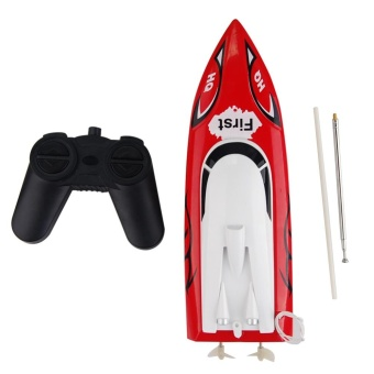 RC Speed Racing Boat Radio Remote Control RTR Electric Dual MotorToy Boats Color Random - intl