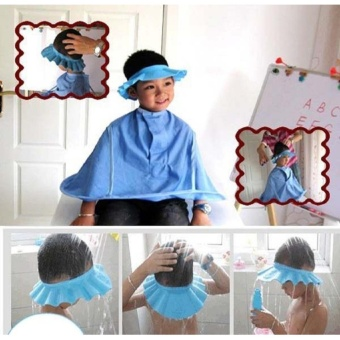 Safe Shampoo Shower Bathing Protection Soft Cap Hat for Toddler's,Baby ,Children & Kids to Keep the Water Out of Their Eyes &Face - intl