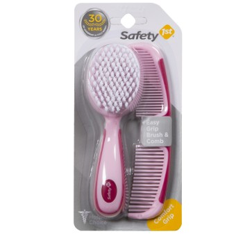 Safety 1st IH172 Easy Grip Brush and Comb Raspberry