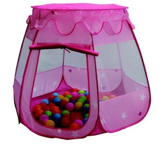 Separable Roof Kids Magic Learning House Princess Tent (Pink) Price Philippines