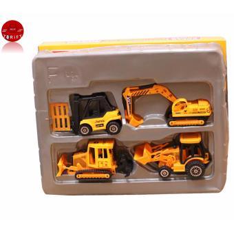 SHOP AND THRIFT F4 TOYS 4 Design die cast mini car series/construction toy car Price Philippines