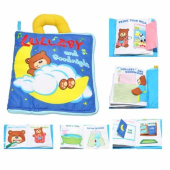 Soft Activity Books for Children Toddler Learning Story Book LifeEducation Sleep Books Baby Toys Price Philippines