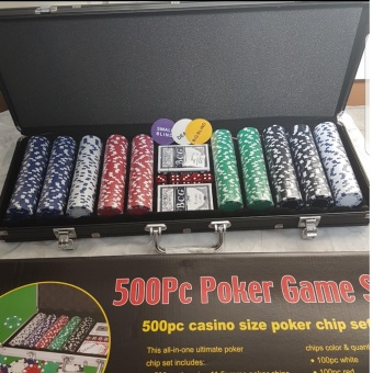 Sports In Style Poker Game Poker Chips Set 500pcs