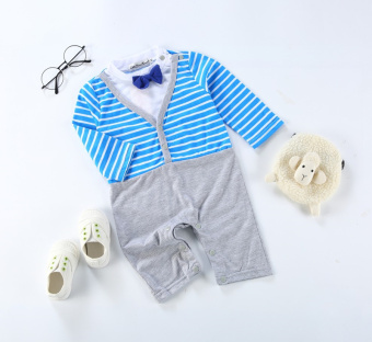 Summer new baby Cotton Short sleeved romper baby coveralls
