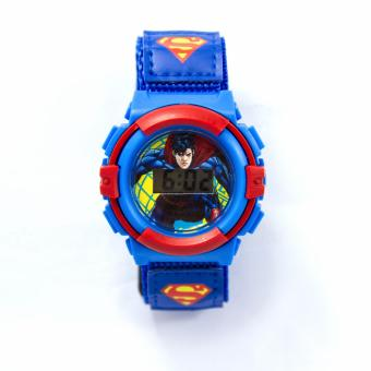 Superman LCD Watch with Velcro Strap