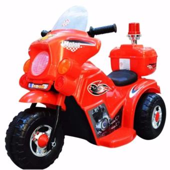 TC-005 Rechargeable Motor Bike Kids Ride-on Toys Police Motorcycle(Red)