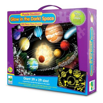 THE LEARNING JOURNEY Puzzle Doubles Glow in the Dark Space Price Philippines