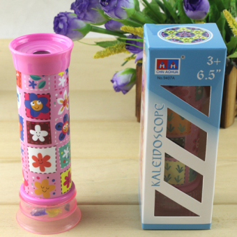 To explore children's fun toy Kaleidoscope